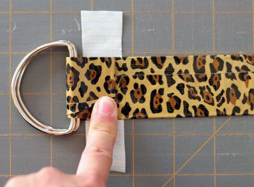 DIY: Easy & Cute Duct Tape Belts
