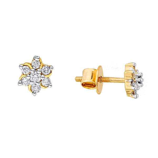 Katrina's Favourite - Nakshatra Diamond Earring NERA152BSI-GH-K