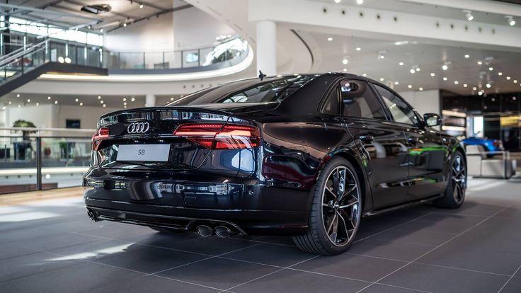 Audi S8 Plus in Carbon Schwarz Metallic - Photos !