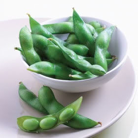 Edamame. I eat this way more than I'd like to admit!