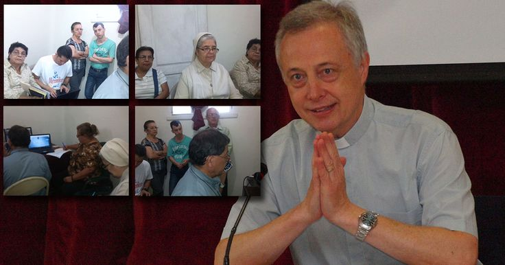 FAVISAL: diálogo con el P. Tomaž Mavrič CM 25º sucesor de san Vicente - FAMVIN NoticiasES