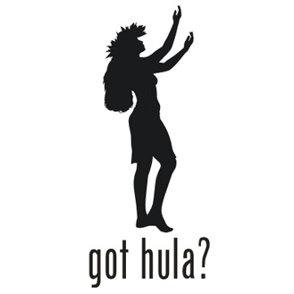 Got Hula Hawaiian Girl Vinyl Graphic Decal Sticker | eBay
