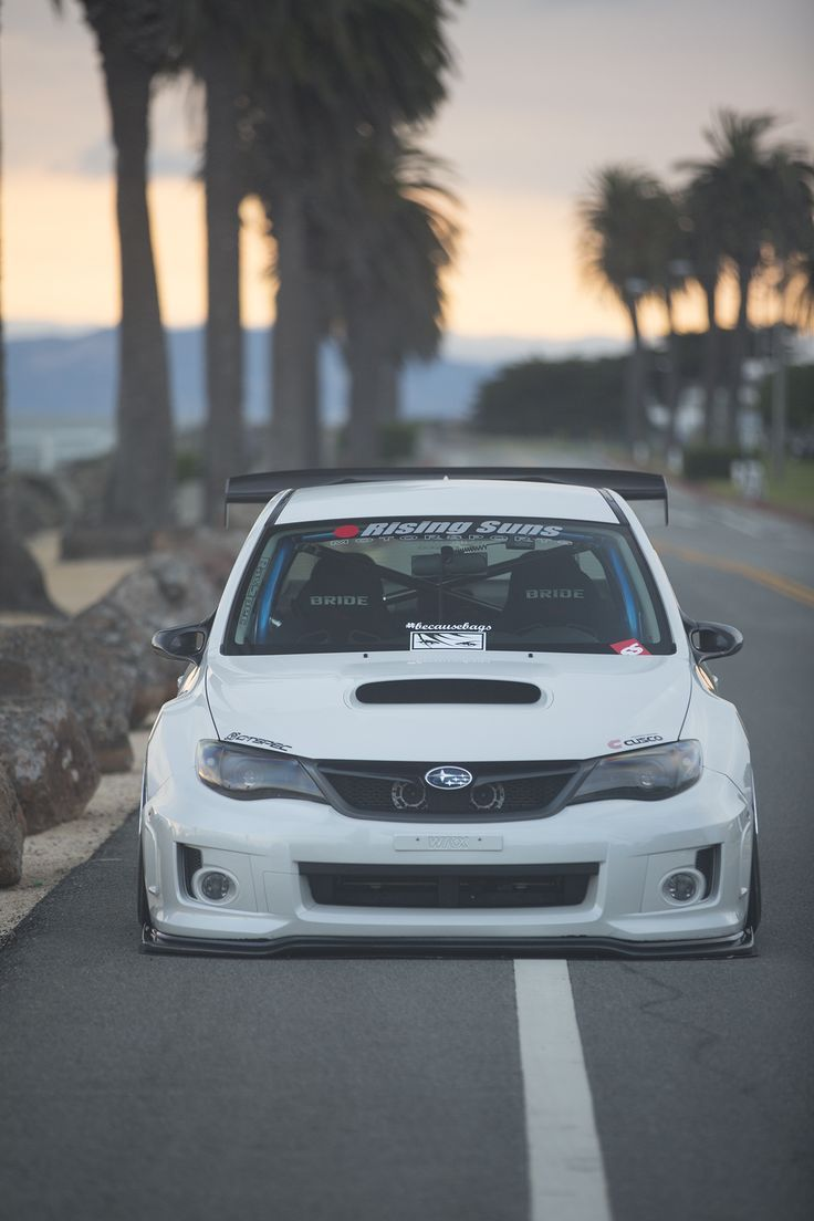 "tunedandracecars: ""Subaru Impreza WRX """
