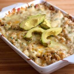 twist on a classic: fajita mac and cheese