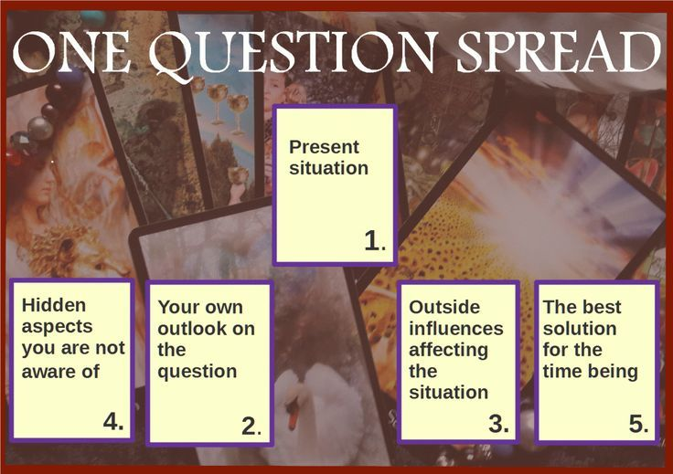 Tarot Spread- One Question. – Tarot, Life and You