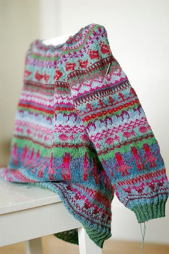 Ravelry: Pinneguri's Sweater No Chicken