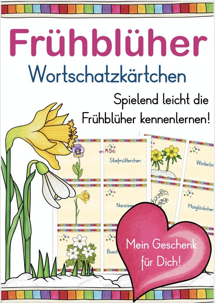 Frühblüher Spiel – Deutsch, Lehreralltag, Sachunterricht – Nina Fandrich