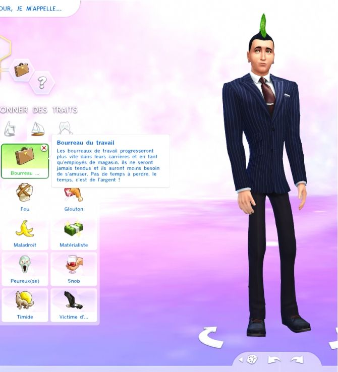 Workaholic Trait by OhMy! at Mod The Sims via Sims 4 Updates
