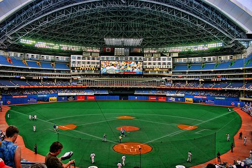 Rogers Center (formerly the Skydome)