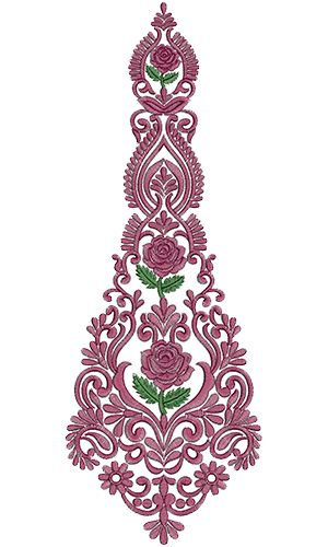 11168 Kali Embroidery Design