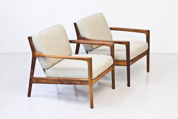 """""""USA 75"""" Easy Chairs by Folke Ohlsson 2"""
