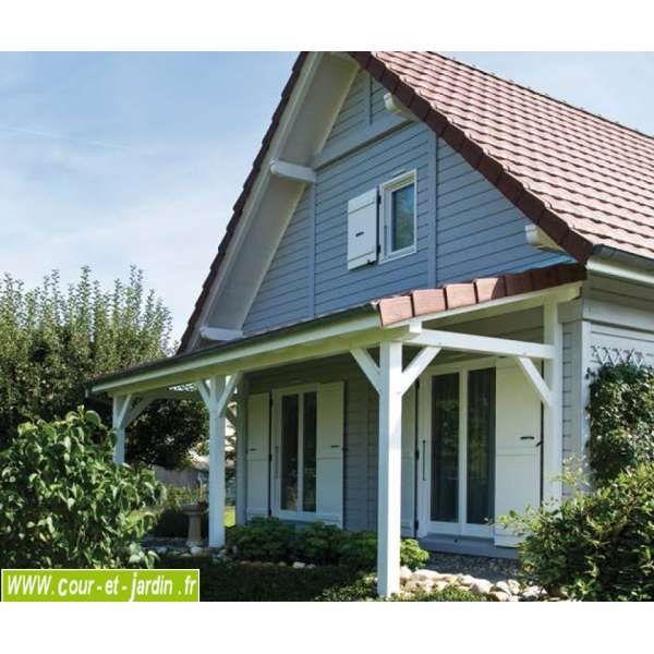 Best 25 auvent terrasse ideas on pinterest - Carport bois 2 pentes ...