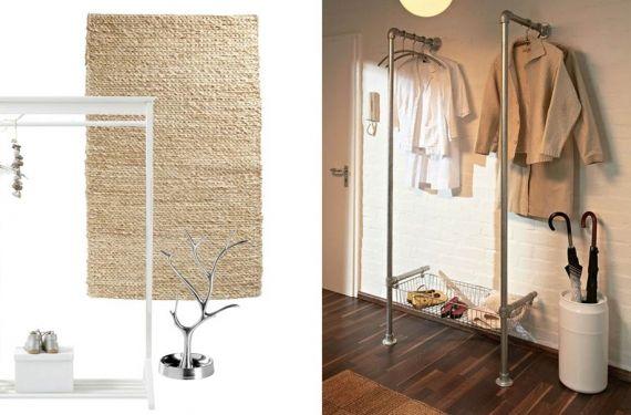 M s de 25 ideas incre bles sobre barra de colgar para ropa en pinterest percha para ropa - Burro para colgar ropa ...