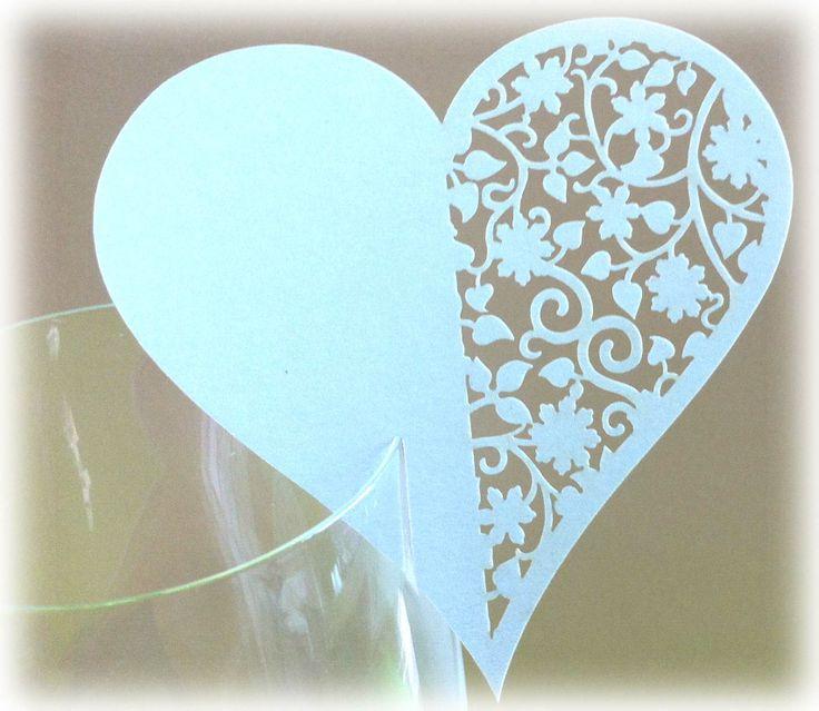 Европейские форме сердца полые стеклянные чашки гостеприимство кексы свадебная открытка карты оформлены стороны - Taobao