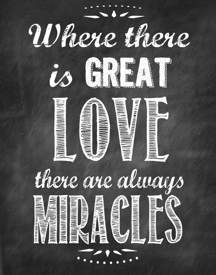 Second Chance to Dream: Where there is great LOVE Printable