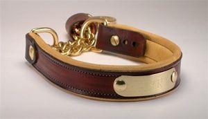 Leather Martingale Collar l Custom Leather Martingale Dog Collar