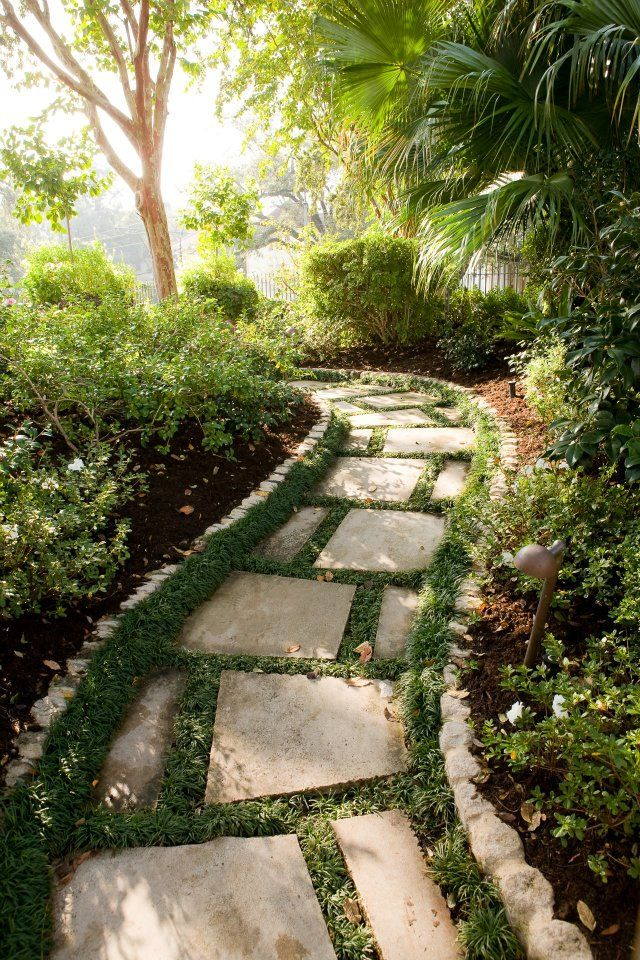 708 best images about stone path ideas on pinterest. Black Bedroom Furniture Sets. Home Design Ideas