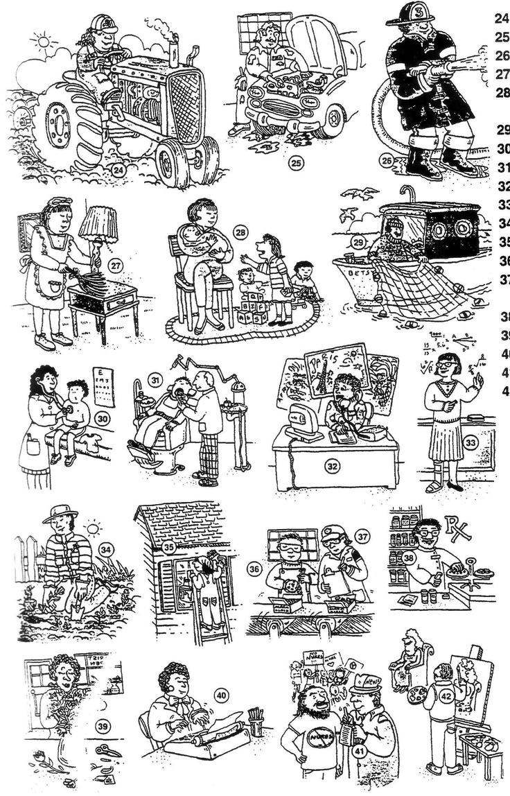 Vocabulaire : les métiers