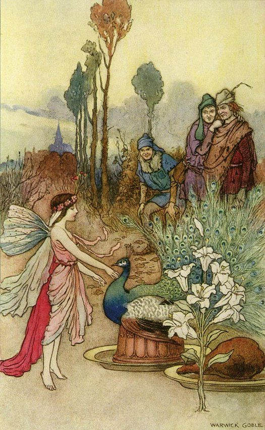 Warwick Goble A Crust of Peacock Pie: