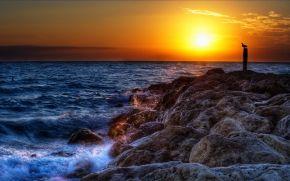 tramonto, Golfo del Messico, South Seas Island Resort, Captiva, Florida