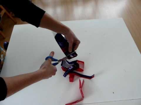 ▶ ADLJ-Plastic tas dubbele draad (breien, haken, etc) - YouTube