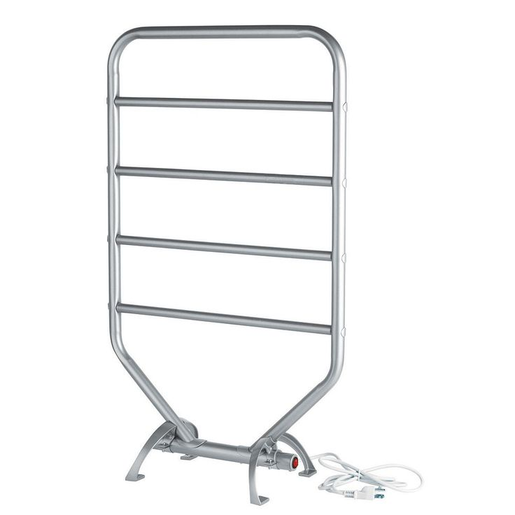 Warmrails Traditional Towel Warmer and Drying Rack, Grey