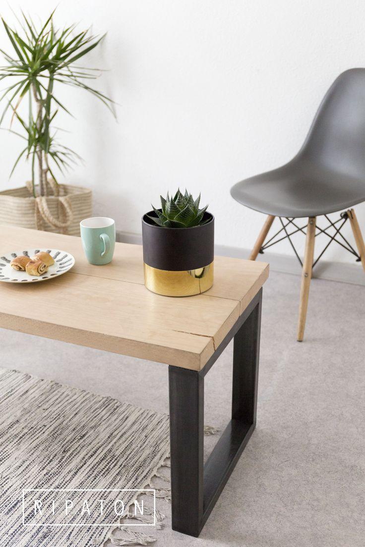 les 25 meilleures id es de la cat gorie table basse bois. Black Bedroom Furniture Sets. Home Design Ideas