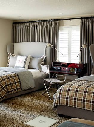 I love everything about it.: Idea, Bedrooms Design, Boys Bedrooms, Boys Rooms, Interiors Design, Teen Boys, Toby Fairley, Guest Rooms, Modern Bedrooms