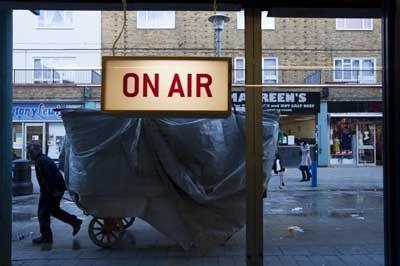 Pop-up radio station