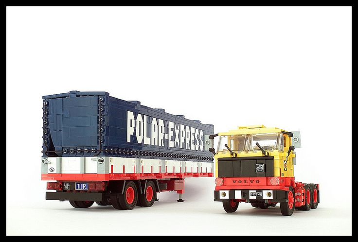 Volvo F89 + Polar-Express trailer