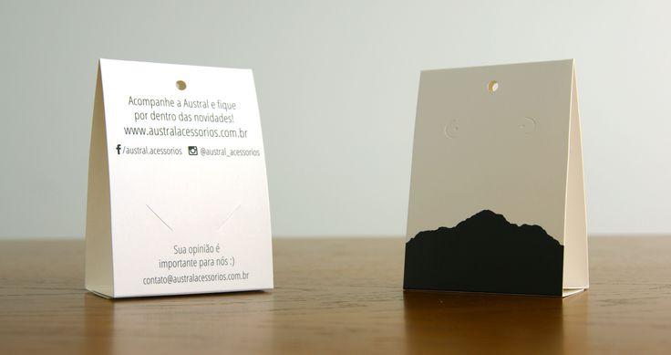 Packaging by Maria Eduarda Veronese for Austral Acessórios