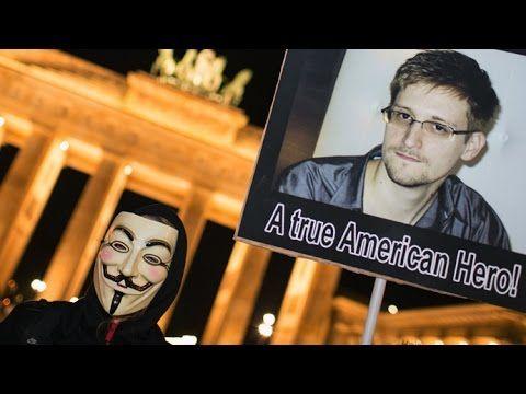 Anonymous - Edward Snowden Heute [Deutsch]