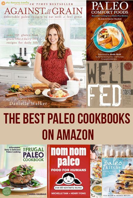 The Best Paleo Cookbooks on Amazon