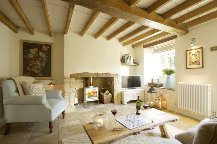 Luxury Self catering Cottage Fulbrook Oxon English Pinterest Fireplaces Cosy