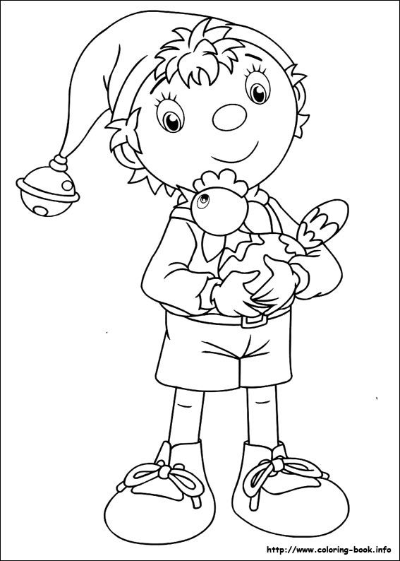 noddy coloring pages - photo#16