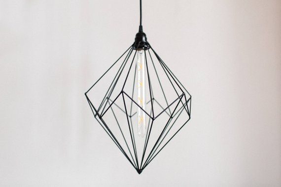Geometric Lamp Industrial Lighting Loft Light Handmade
