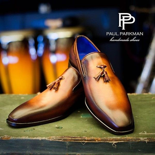Men's Luxury Shoes by PAUL PARKMAN — Best seller ? Paul Parkman Men's Tassel Loafer... featuring and polyvore,