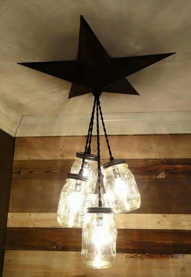 Hanging jar light