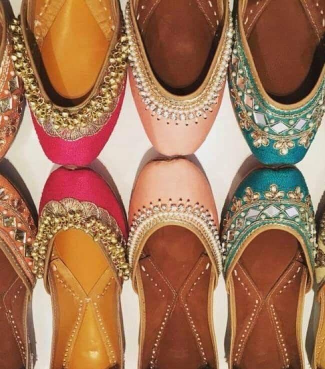 Rajasthani Mojdi- Handcrafted Designer