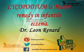 Pratibha Homeo Clinic : Lycopodium & Infantile eczema