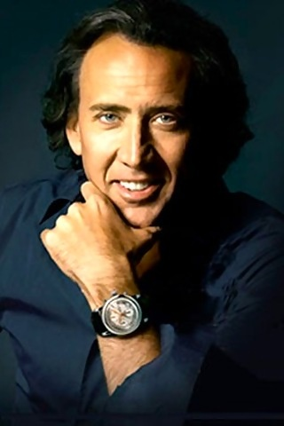Nicolas Cage -sometimes a bit scary but a very impressive screen personality.