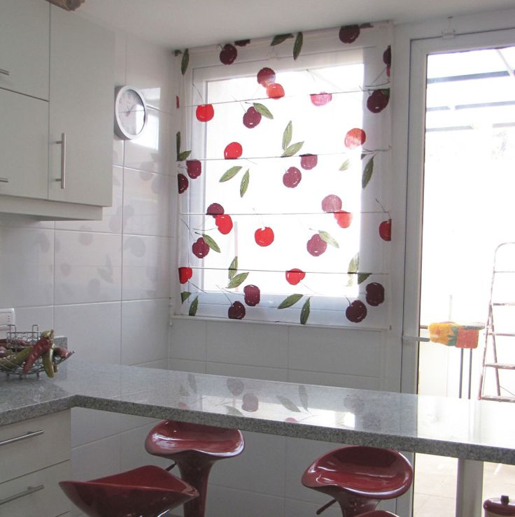 dise os especiales para cocinas decoraci n cortinas On decoracion cortinas cocina