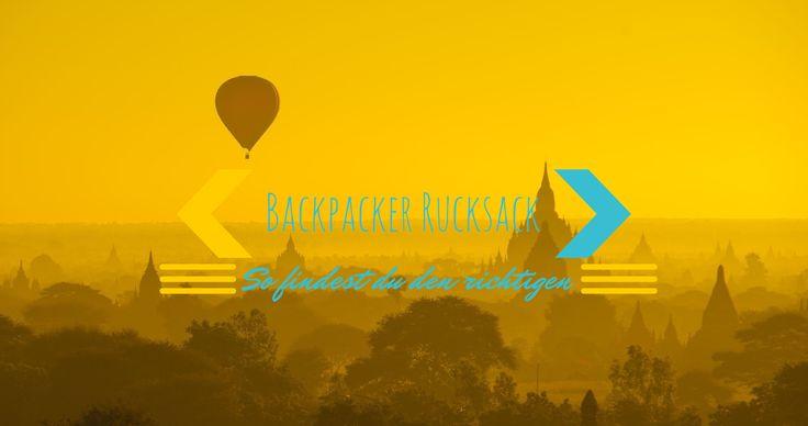 Endlich habe ich auch einen Rucksackratgeber zusammengestellt. Hier findest du die besten Rucksäcke für Backpacker.   http://flashpacking4life.de/backpacker-rucksack-die-besten-im-test/