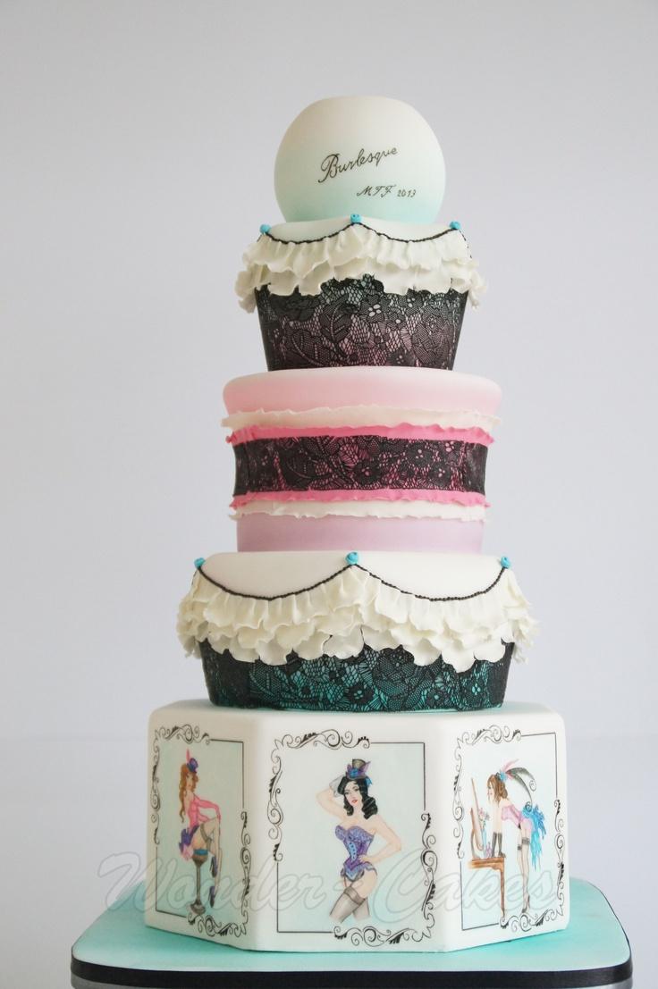 Best 12 Cabaret party images on Pinterest | Burlesque cake, Conch ...