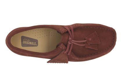 Clarks Wallabee. - Nut Brown - Womens Originals Shoes | Clarks