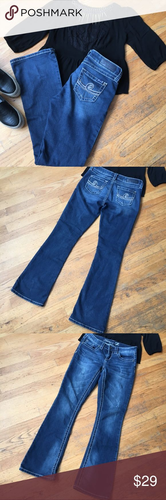 "Seven7 Jeans Boot Cut jeans. In good condition. Measurements inseam approx ""31""in. Rise front approx ""8"" Waist approx ""15""in. Seven7 Jeans Boot Cut"