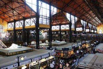 The lower level of the Great Market hall