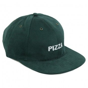 Pizza Skateboards Pizza Cap in Forest Green