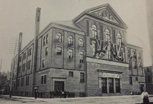 Massey Music Hall, late 1890s, archival photo