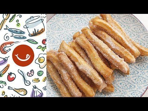 C mo hacer churros caseros youtube postres pinterest youtube - Como hacer churros en casa ...
